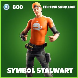 Symbol Stalwart uncommon fortnite skin