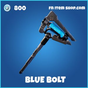 Blue Bolt rare fortnite pickaxe