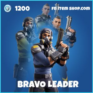 Bravo Leader rare fortnite skin