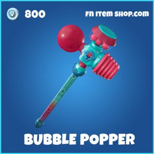 Bubble Popper rare fortnite pickaxe