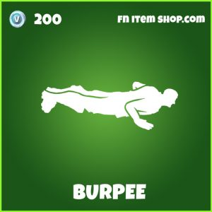 Burpee uncommon fortnite emote