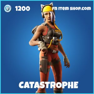 Catastrophe rare fortnite skin