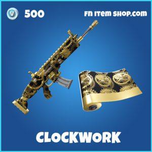 clockwork rare fortnite wrap