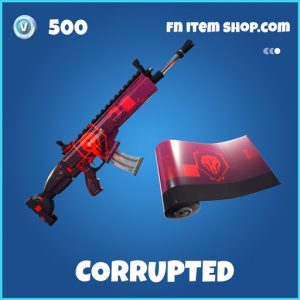 Corrupted rare fortnite wrap