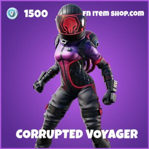 Corrupted Voyager epic fortnite skin