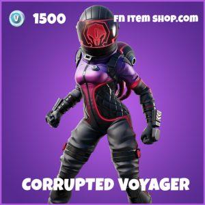 Corrupted Voyager epic fortnite skin