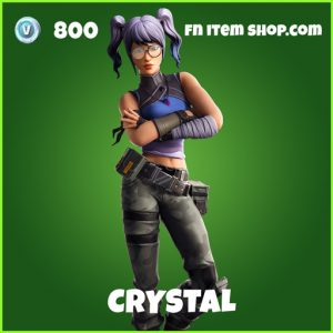 Crystal uncommon fortnite skin