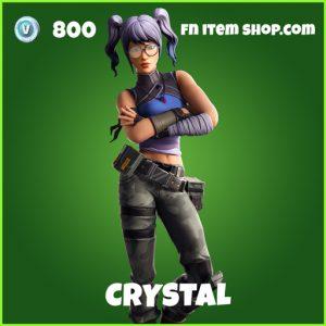 Crystal uncommon fortnite skin