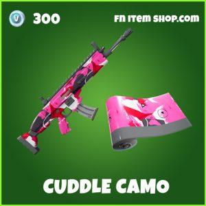 cuddle camo uncommon fortnite wrap
