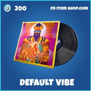 Default Vibe rare music pack fortnite
