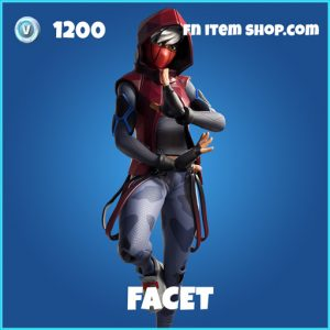 Facet rare fortnite skin