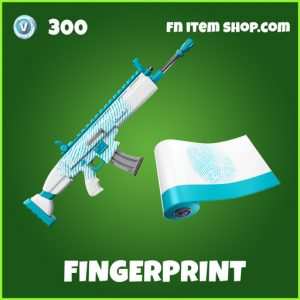 Fingerprint uncommon fortnite wrap