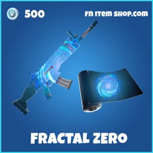 Fractal Zero rare fortnite wrap