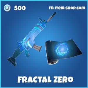 Fractal Zero rare fortnite wrap