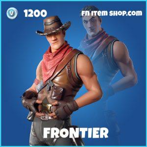 Frontier rare fortnite skin