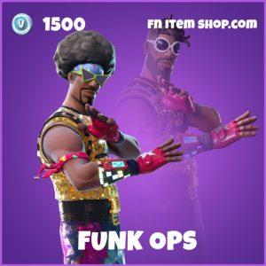 Funk Ops epic fortnite skin