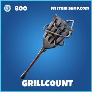 Grillcount rare fortnite pickaxe