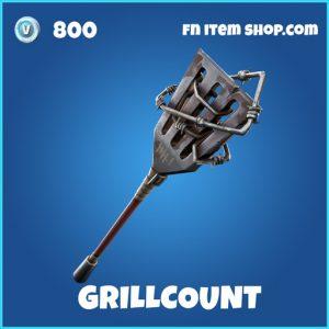 Grillcount rare fortnite pickaxe