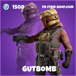 Gutbomb epic fortnite skin