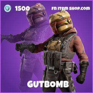 Gutbomb epic fortnite skin