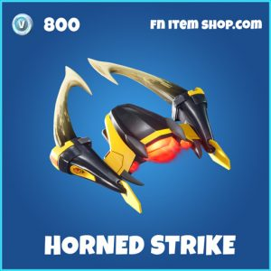 Horned Strike rare fortnite glider