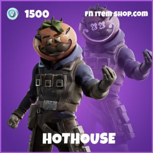 Hothouse epic fortnite skin