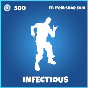 Infectious rare fornite emote