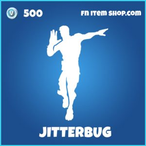 Jitterbug rare fortnite emote