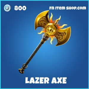 Lazer Axe rare fortnite pickaxe