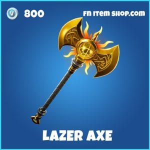 Lazer Axe rare fortnite pickaxe