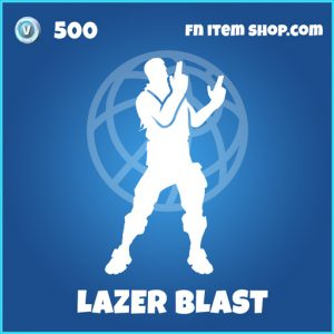 Lazer blast rare fortnite emote