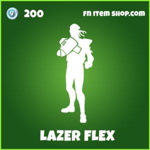 Lazer Flex uncommon fortnite emote