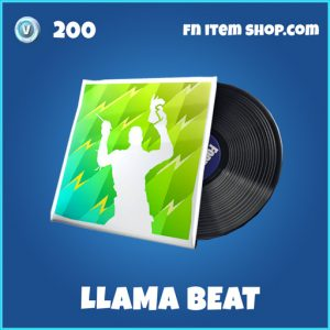 Llama Beat rare fortnite musick pack