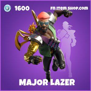 Major Lazer Bundle fortnite bundle