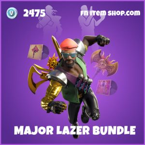 Major Lazer epic fortnite skin