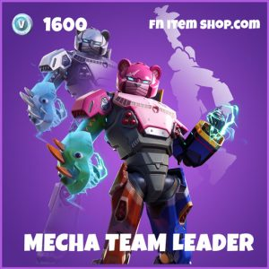 Mecha Team Leader epic fortnite skin