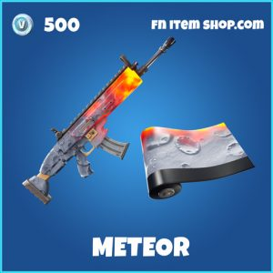 Meteor rare fortnite wrap