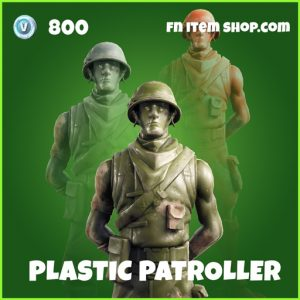 plastic patroller uncommon fortnite skin