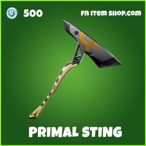 Primal Sting uncommon fortnite pickaxe