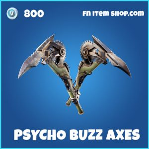 Psycho Buzz Axes rare fortnite pickaxe
