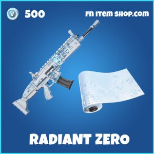 Radiant zero rare fortnite wrap