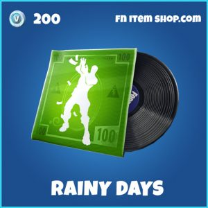 Rainy Days fortnite rare music
