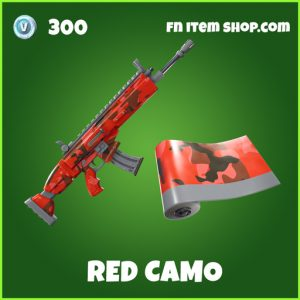 red camo uncommon fortnite wrap