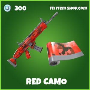 red camo uncommon fortnite wrap