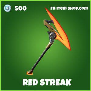 Red Streak uncommon fortnite pickaxe