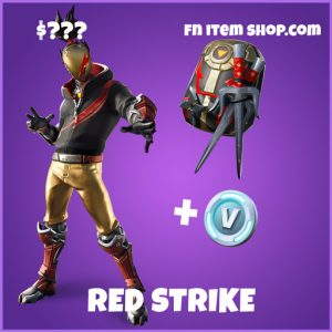 Red Strike epic fortnite bundle