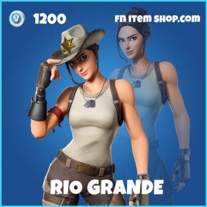 Rio Grande rare fortnite skin