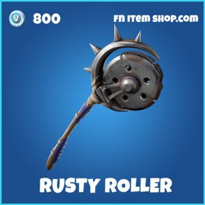 Rusty Roller rare fortnite pickaxe