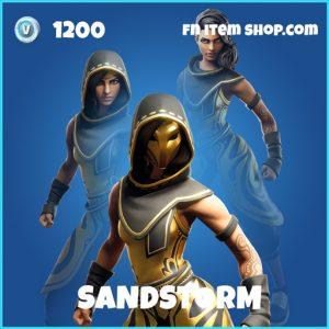 Sandstorm rare fortnite skin
