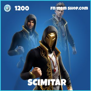 Scimitar rare fortnite skin